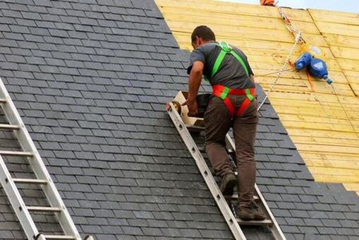 Professional roof installation services in Rochester.