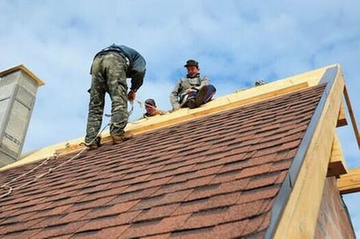 Professional residential roofing services.
